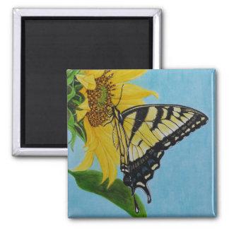 Stella's butterfly magnet