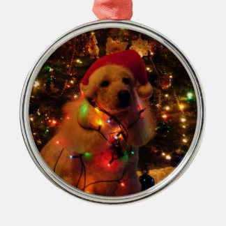 Stella's Christmas Metal Ornament