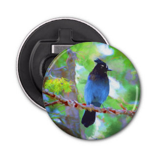 Steller's Jay Bottle Opener