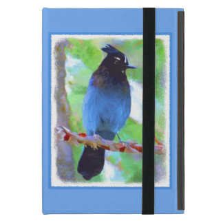 Steller's Jay Cover For iPad Mini