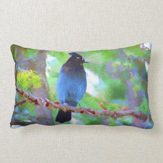 Steller's Jay Lumbar Pillow