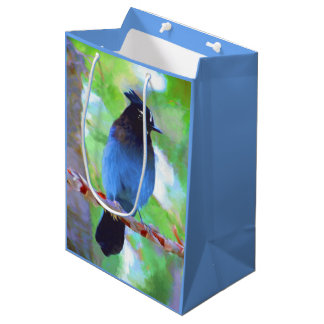 Steller's Jay Medium Gift Bag