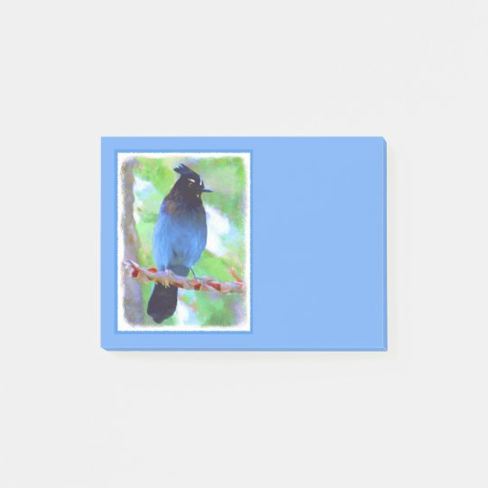 Steller's Jay Post-it Notes