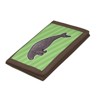 Steller's Sea Cow Trifold Wallet