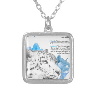 Stelmaria - Asriel's Daemon from His Dark Material Silver Plated Necklace