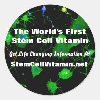 Stem Cell Vitamin Stickers