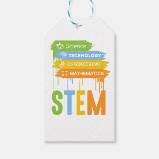 STEM Science Technology Engineering Math School Gift Tags