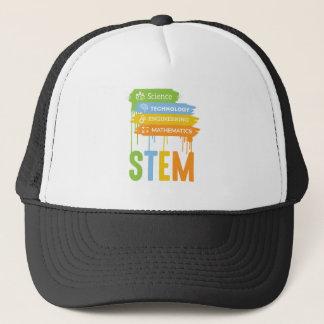 STEM Science Technology Engineering Math School Trucker Hat