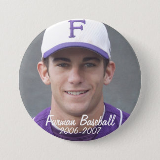 StembridgeW2007Mug, Furman Baseball, 2006-2007 3 Inch Round Button