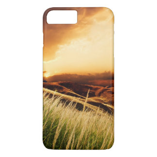 stems of rush at the sunset iPhone 7 plus case