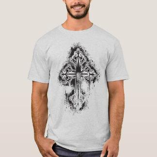 Stencil Cross - Customized T-Shirt