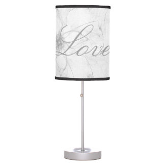 Stencil Design Love Lamp