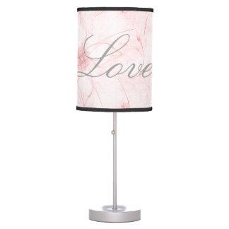 Stencil Design Love Lamp