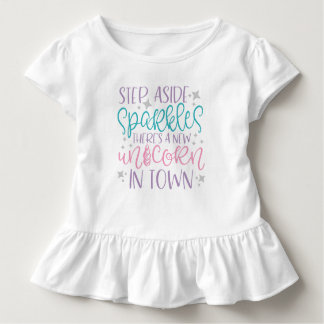 Step Aside Sparkles Toddler T-shirt