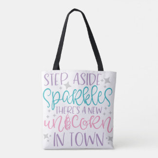 Step Aside Sparkles Tote Bag