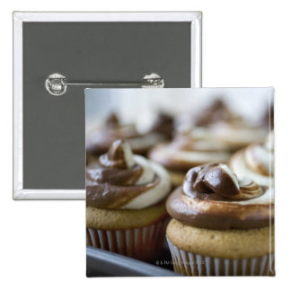 Step by step photos of peanut butter cupcakes 2 inch square button
