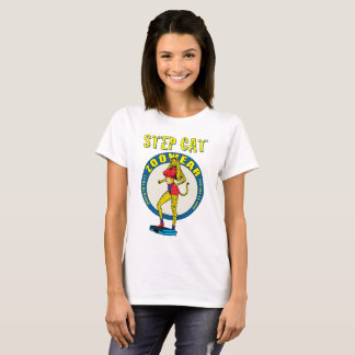 Step Cat Zoowear Fitness Character Shirt