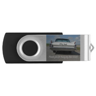 Step Dad  thank you best man - invitation Swivel USB 3.0 Flash Drive