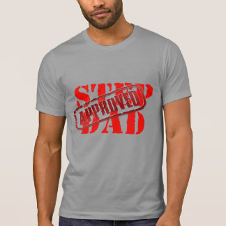 step dad the man myth bonus fathers day gift funny T-Shirt