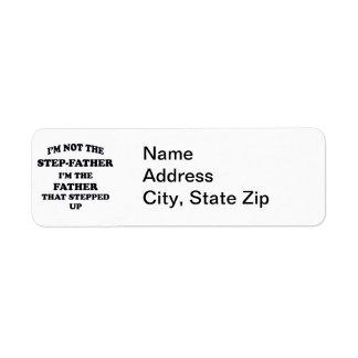 Step-Father Return Address Label