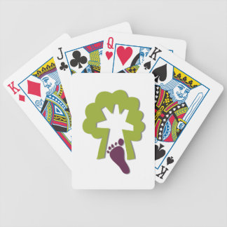 STEP INTO NATURE BICYCLE PLAYING CARDS