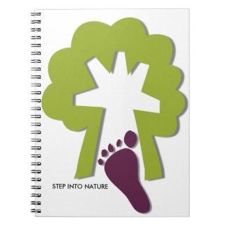 STEP INTO NATURE NOTEBOOKS