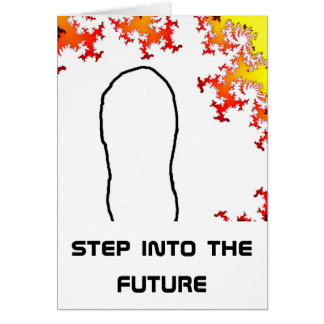 step into the future card