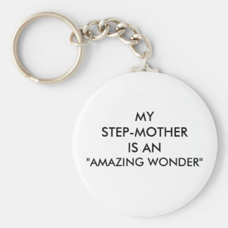 "STEP-MOTHER ""AMAZING WONDER"" KEYCHAIN"