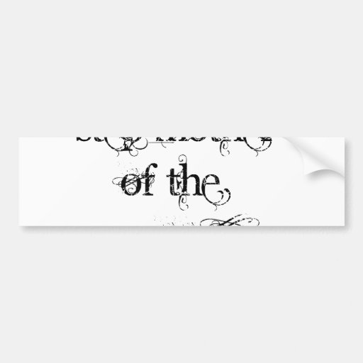 Step Mother of the Groom Bumper Stickers