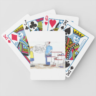 Step Out Bicycle Playing Cards