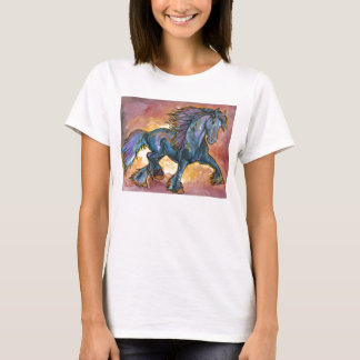 step out friesian stallion shirt