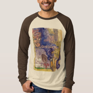 Step Up LOVEDARTS longsleeve tan/brown ringer T-Shirt