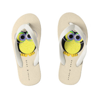 Step wisely kid's flip flops