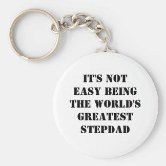 Stepdad Keychain