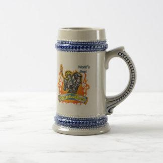 Stepfather Hockey Father's Day Gifts Coffee Mug