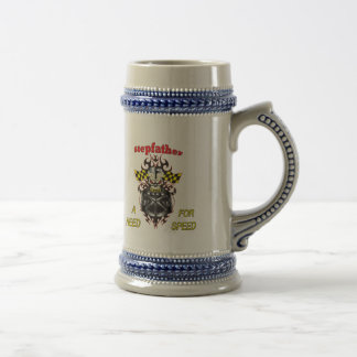 Stepfather Need For Speed Father's Day Gifts Beer Steins