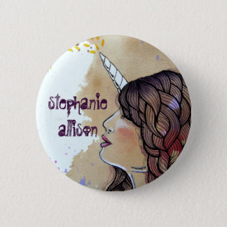 Stephanie Allison 2 Inch Round Button