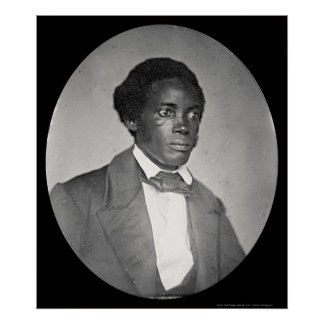 Stephen Allen Benson Daguerreotype 1855 Poster