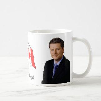 Stephen Harper Basic White Mug