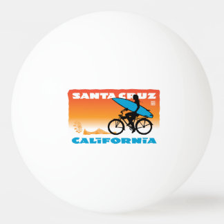Stephen Hosmer's Surfer Girl Orange Ping-Pong Ball