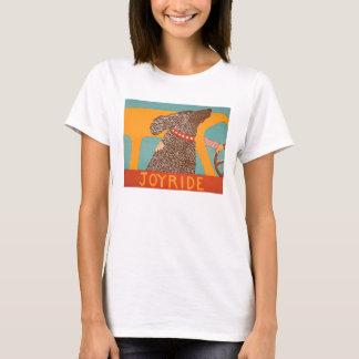 Stephen Huneck t- shirt Joyride with Chocolate Lab