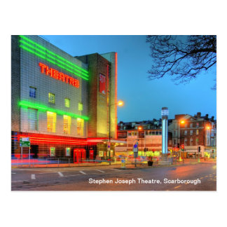 Stephen Joseph Theatre, Scarborough postcard