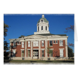Stephens County Courthouse Card