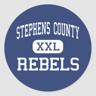 Stephens County Rebels Middle Eastanollee Sticker