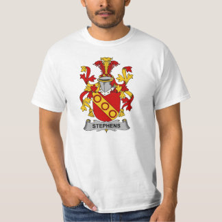 Stephens Family Crest T-Shirt