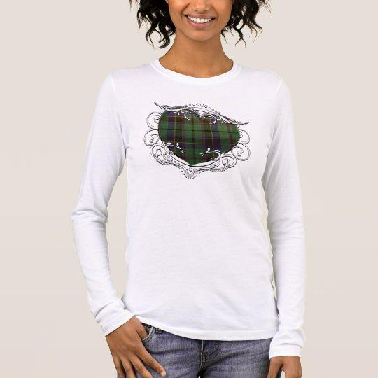 Stephenson Tartan Heart Long Sleeve T-Shirt