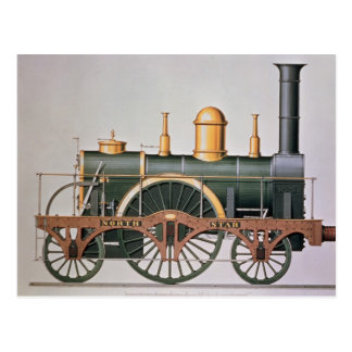 Stephenson's 'North Star' Steam Engine, 1837 Postcard