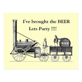 stephensons_rocket, I've brought the BEER Postcard