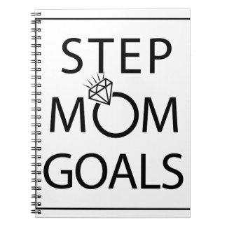 StepMom Goals Notebook