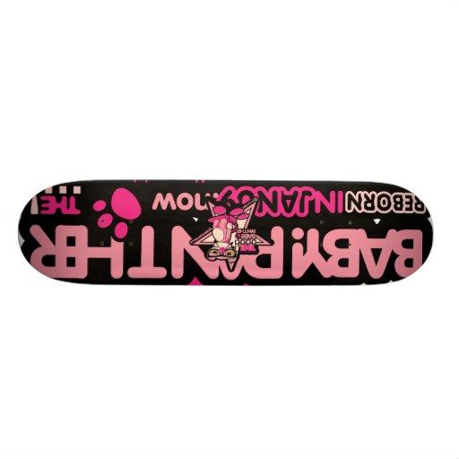 StepPanther_01, StarPanther_01 Skate Board Deck